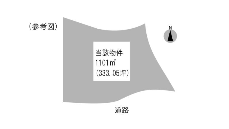 物件形状参考図下福元町8500番1