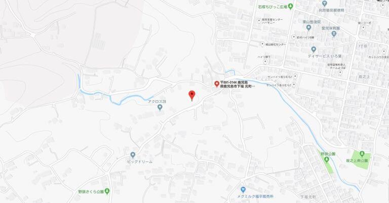 map下福元町8500番1
