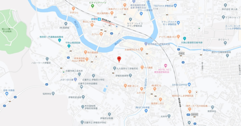 map伊集院町下谷口字原田1953-1