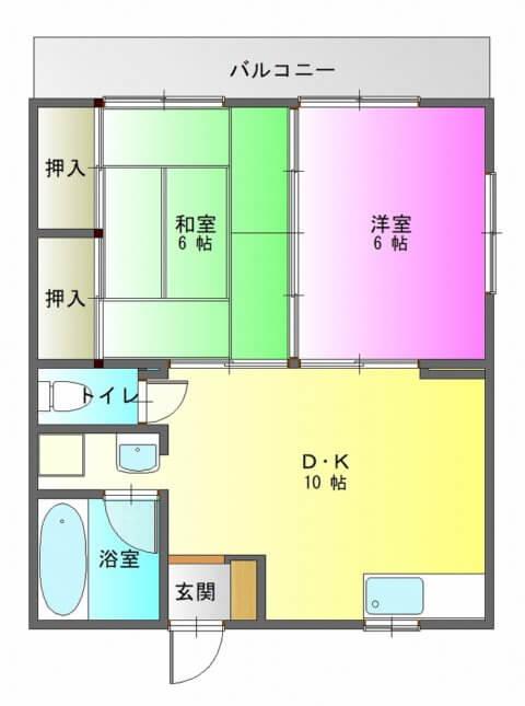 ハイム南陽201-平面図( 1 階)