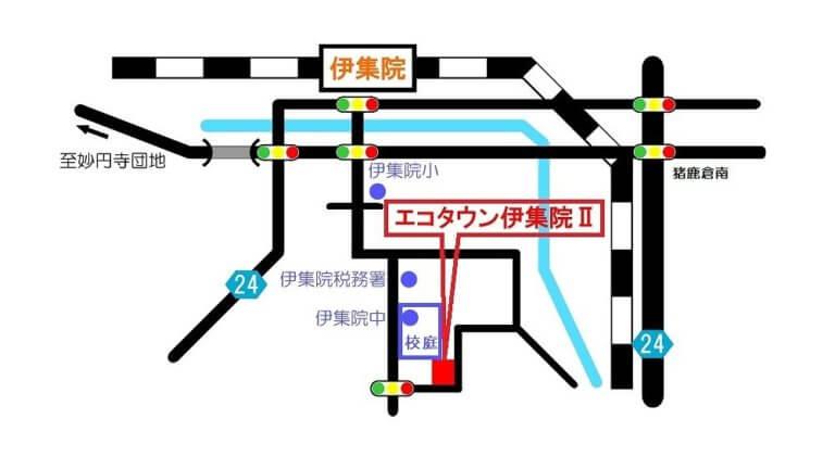mapエコタウンⅡ