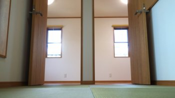 畳コーナー子供室ドア