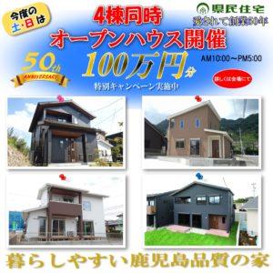 4棟同時オープンハウス